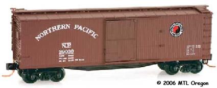 40' Wood Boxcar N