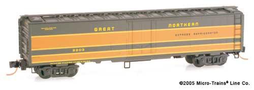 52' Express Boxcar N