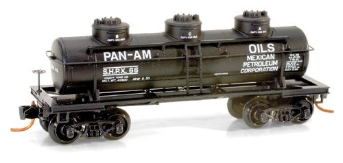 3-dome Tankcar N
