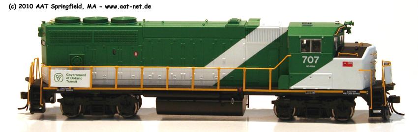 EMD GP40-2(W)