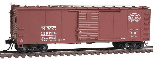 40` Steel Boxcar N