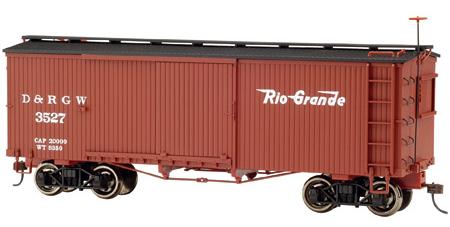 Wood Boxcar 0n30