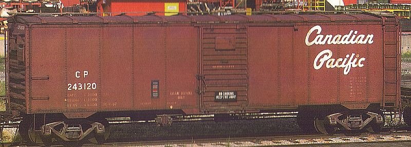 """40´ Steel """"Mini"""" Boxcar N"""