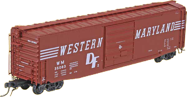 50` Boxcars H0
