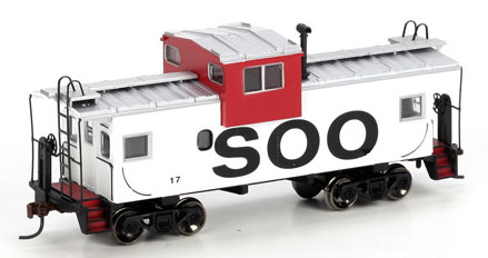 Wide Vision Caboose H0
