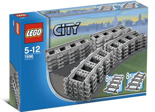 LEGO Gleispackungen