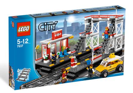 LEGO Bahngebäude