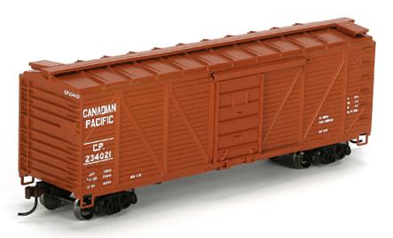 40` Wood Boxcar H0