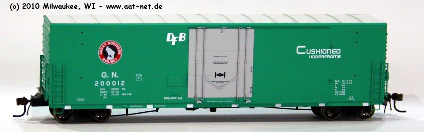 50` PC&F Boxcar H0