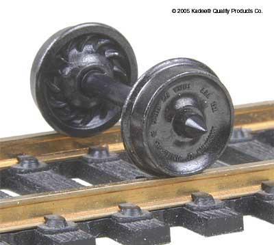 33 Wheelset Freight (ribbed)