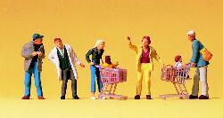 Beim Einkaufen