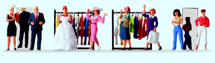 In der Modeboutique