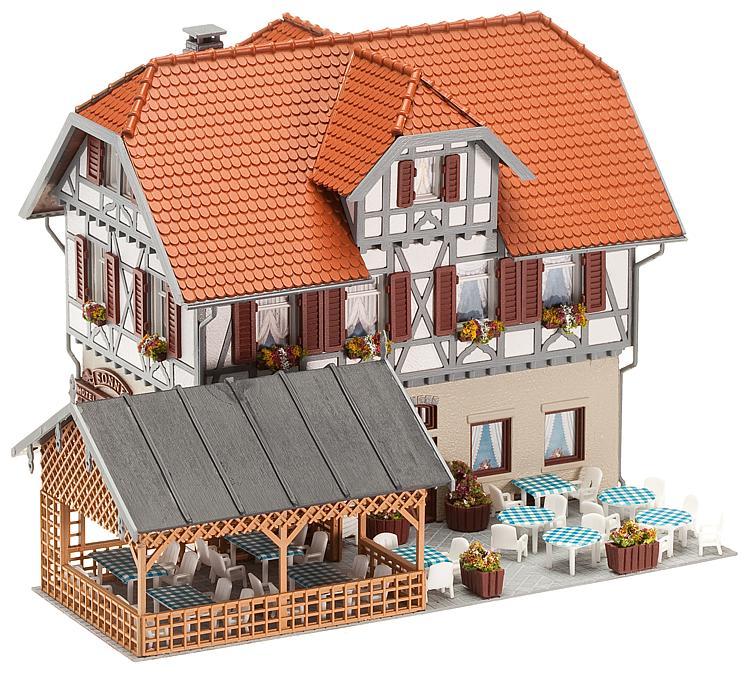 """Gasthaus """"Sonne"""" mit Laube"""