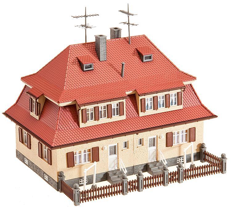 Siedlungs Doppelhaus