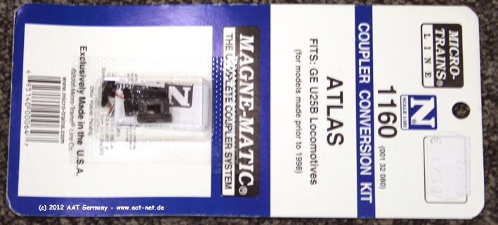 Atlas U25B Conversion Kit