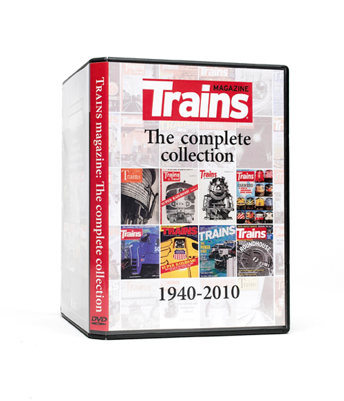 70 Years of Trains Magazine on DVD-ROM