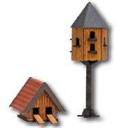 Taubenhaus und Entenhaus