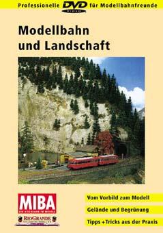 Modellbahn und Landschaft