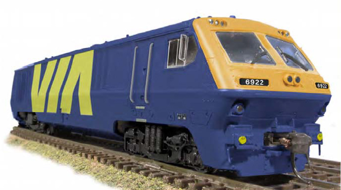VIA Rail Test Scheme