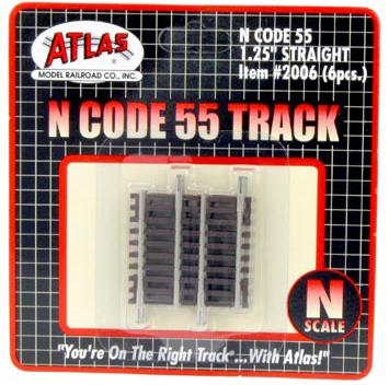 "1.25"" straight Track"