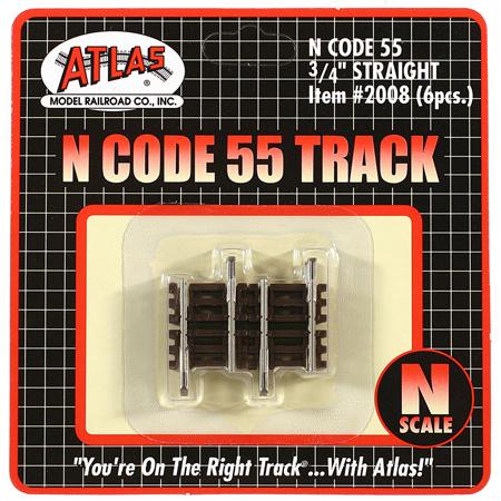 "0.75"" straight Track"