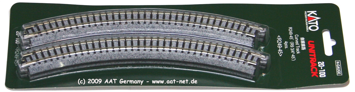 Curved Track R249-45°