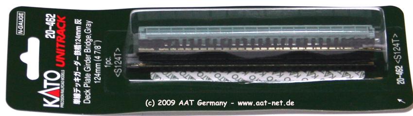 Deck Girder Bridge 124mm (gray)