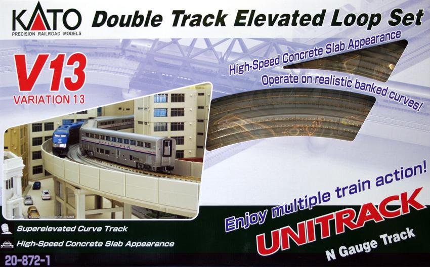 Set V13 Double Track Elevated Loop Set