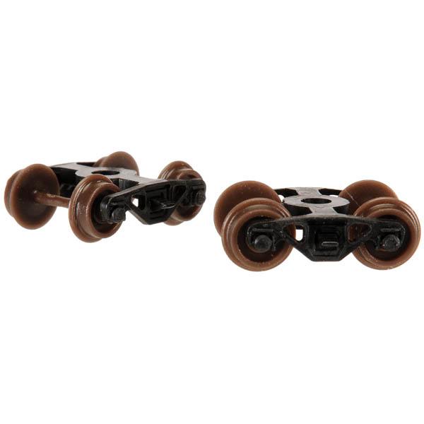 Caboose Roller Bearing Trucks (2)