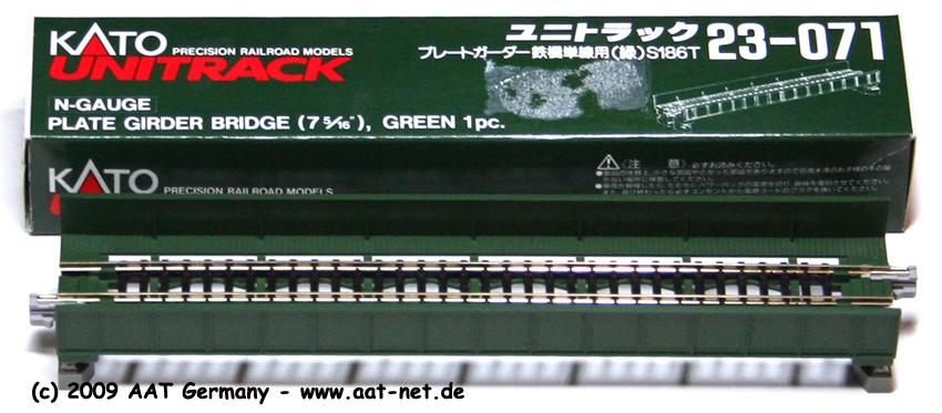 Plate Girder Bridge 124mm (green)
