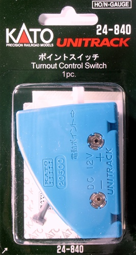Turnout Control Switch