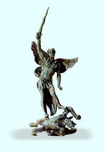 Statue Erzengel Michael