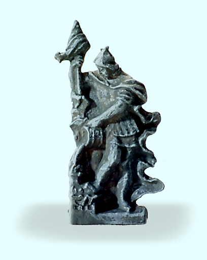 Relieffigur Sankt Florian