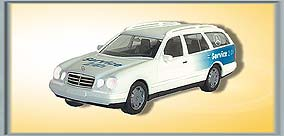 Mercedes-Benz E-Klasse Service Kombi, beleuchtet