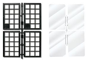 Fenster und Fensterglas