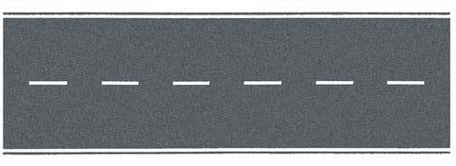 Bundesstraße grau