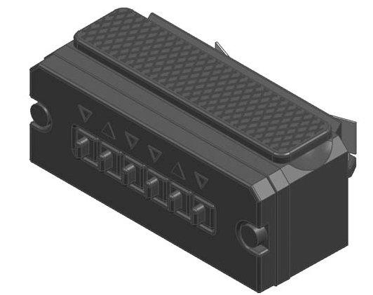 Anbauschalter für E-Weichenantrieb