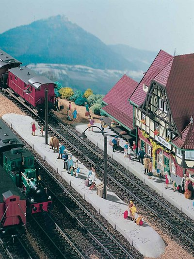 Bahnsteig Neuffen