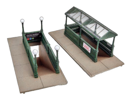 Subway Entrance (Kit)