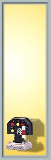 Licht-Sperrsignal, nieder - Höhe 7mm