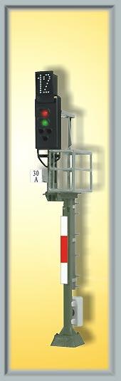 Ks-Hauptsignal als Einfahrsignal, Höhe 78mm