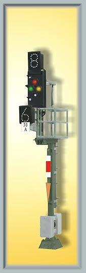 Ks-Mehrabschnittssignal als Ausfahrsignal, Höhe 78mm