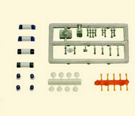 Set Einsatzfahrzeuge (Blaulichtbalken, Signalhörner, Siren