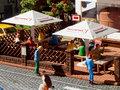 Biergarten Schirme