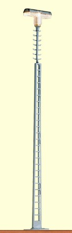 Gittermastleuchte mit Quersprossen - Höhe 125mm