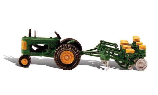 Tractor & Planter