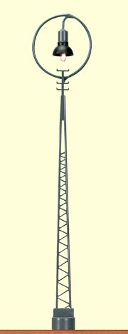 Gittermastleuchte mit Ring, 2er-Set - Höhe 125mm