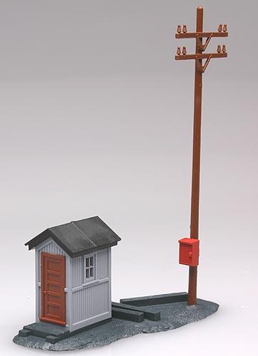 Telephone Shanty w/ Pole (Built-up)