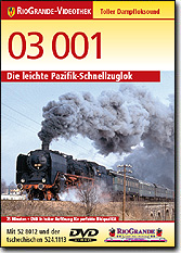 03 001 - Die leichte Pazifik-Schnellzuglok