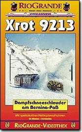 Xrot 9213 - Dampfschneeschleuder am Bernina-Pass